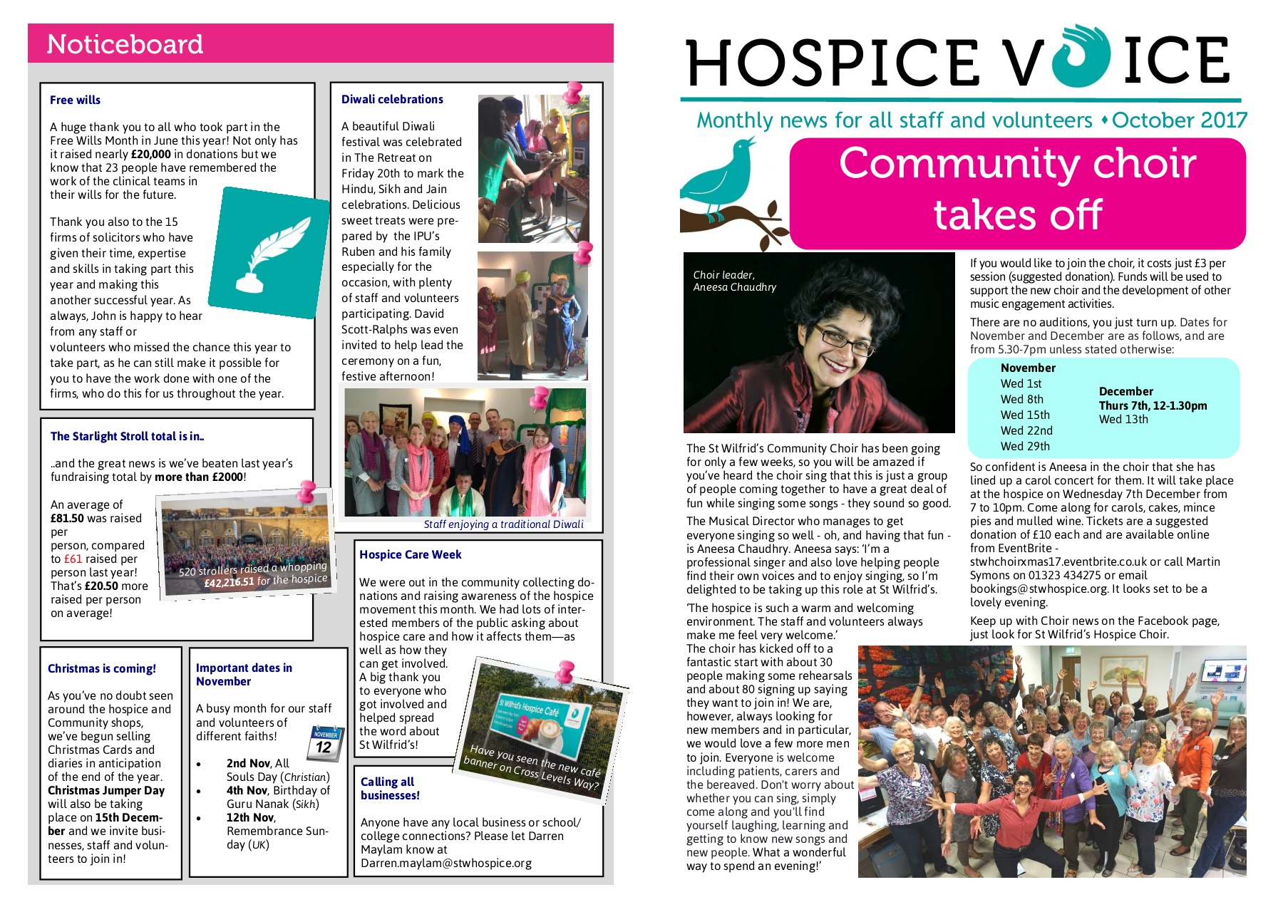October Hospice Voice