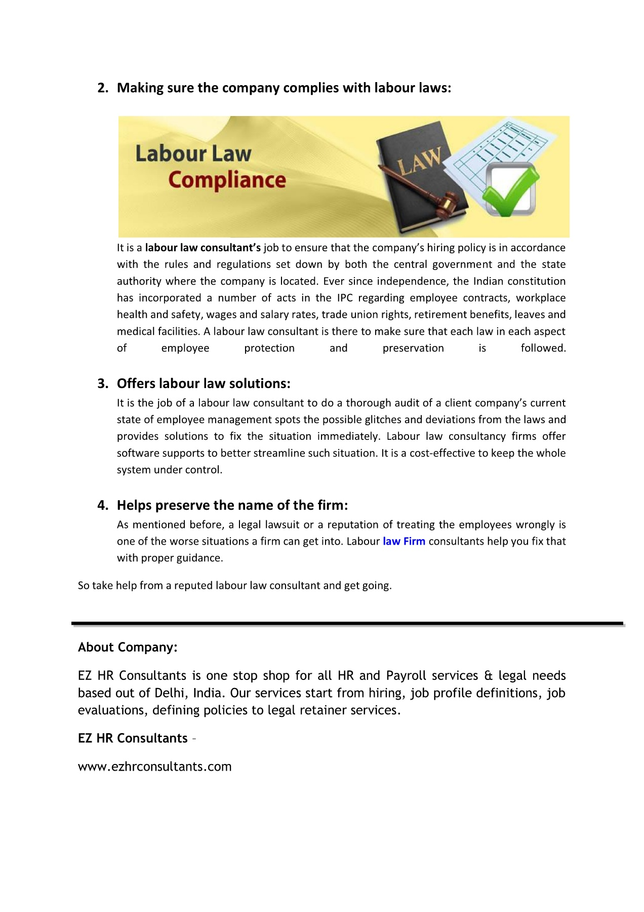 How does a labour law consultant help Pages 1 - 2 - Text