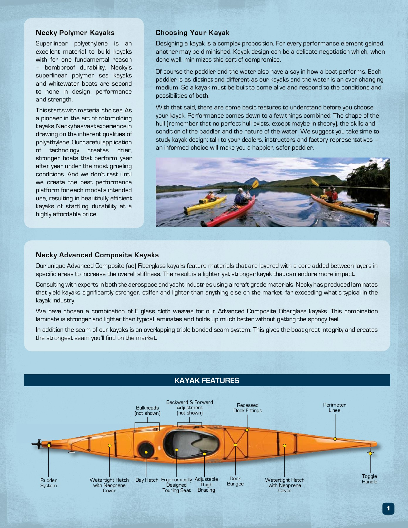 KAYAK GuIDE - Necky Kayaks Pages 1 - 16 - Text Version | AnyFlip
