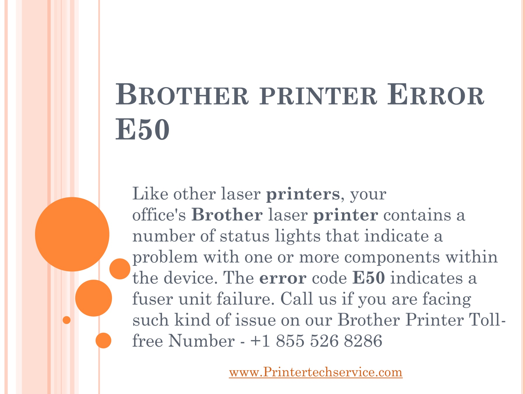 Brother Printer Support Phone Number - +1-855-526-8286 Pages 1 - 7