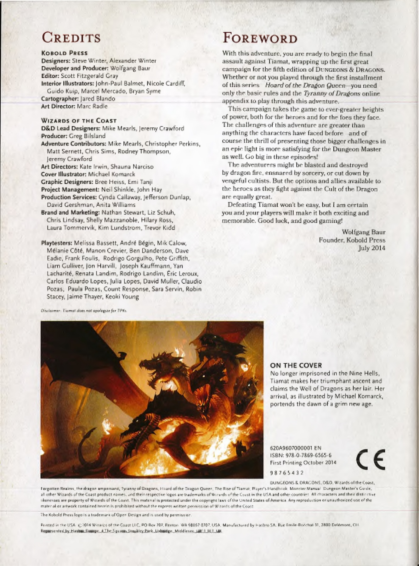 Rise of Tiamat Pages 1 - 50 - Text Version | AnyFlip