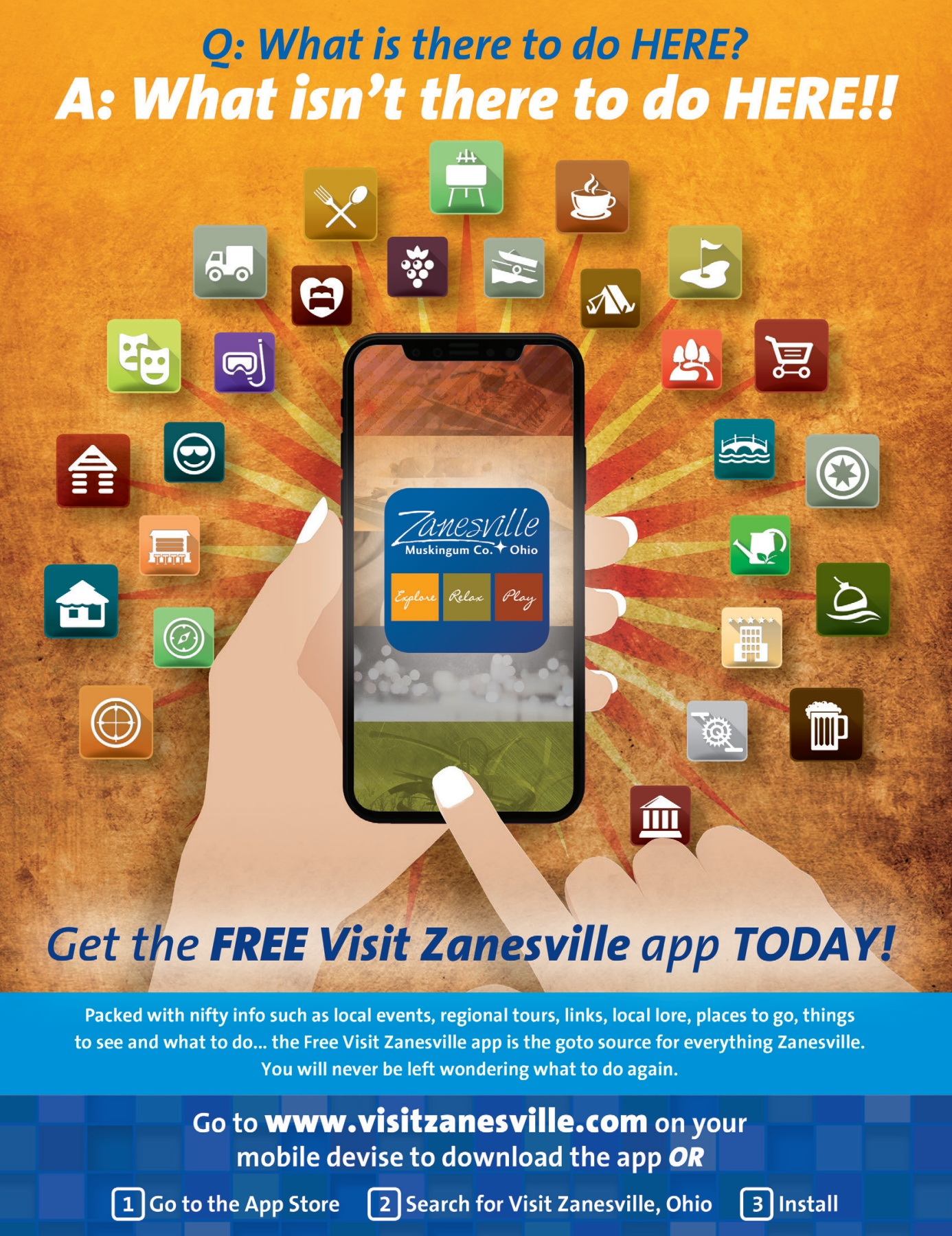 2018 Zanesville Muskingum County Visitors Guide Pages 1 40 Text