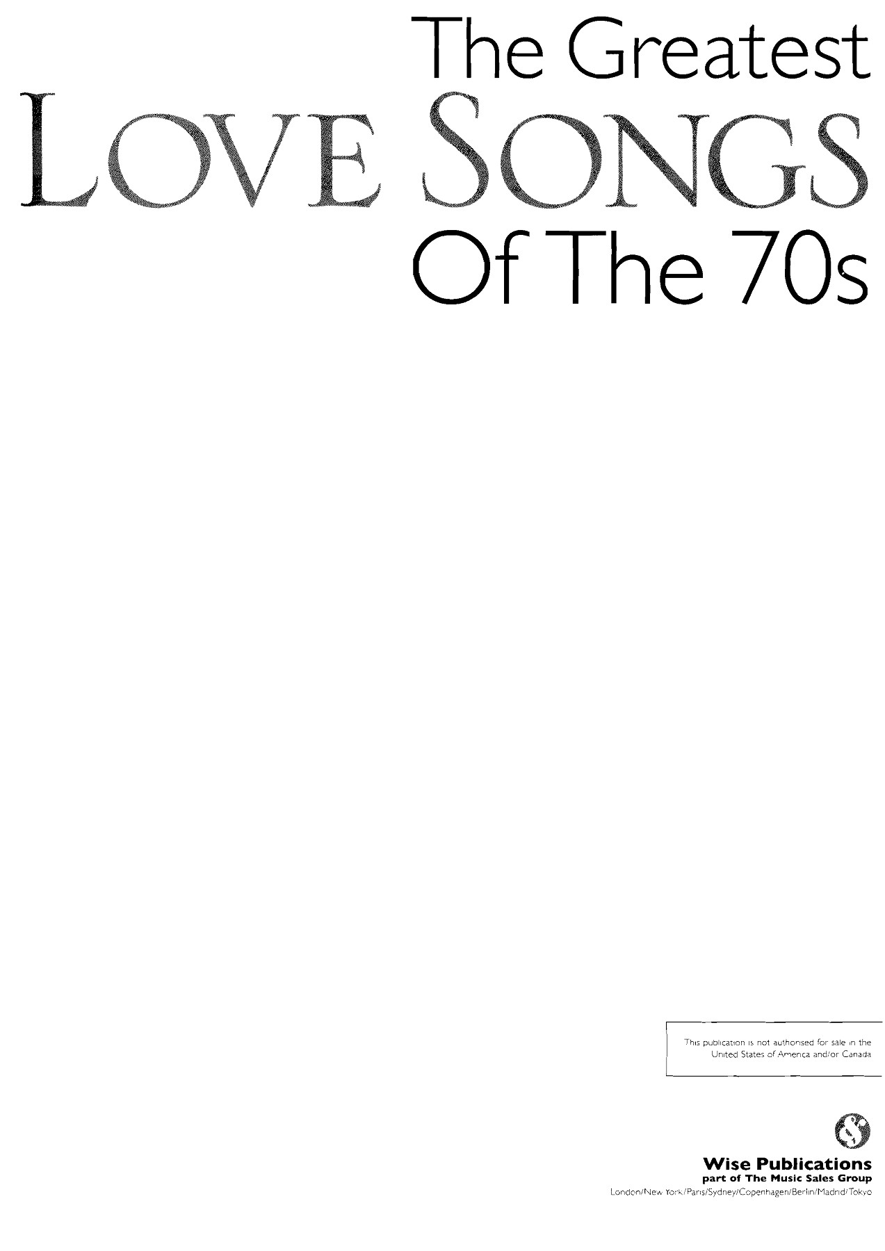 The Greatest Love Songs of the 70s Pages 1 - 50 - Text Version | AnyFlip