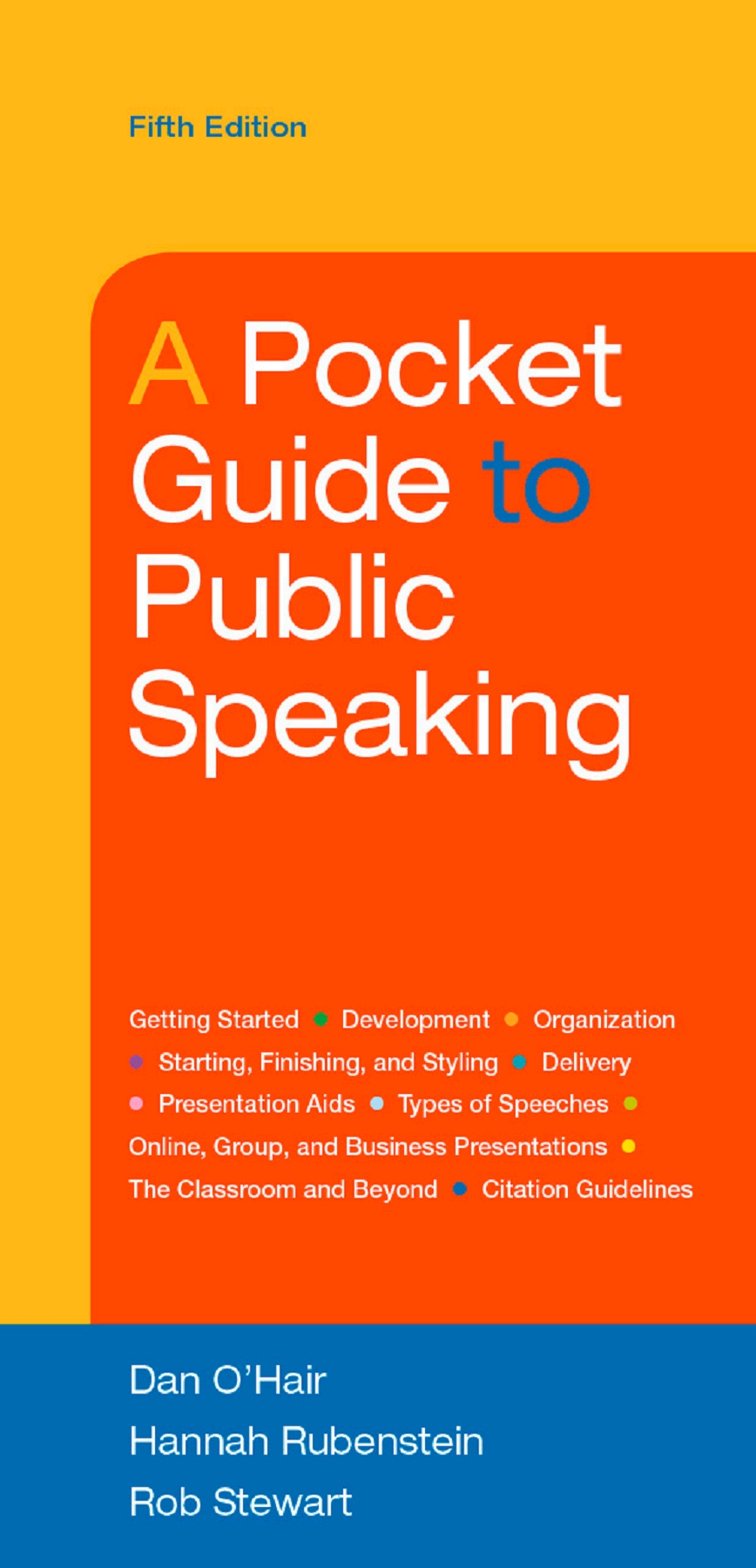 A Pocket Guide To Public Speaking Pages 1 50 Text Version