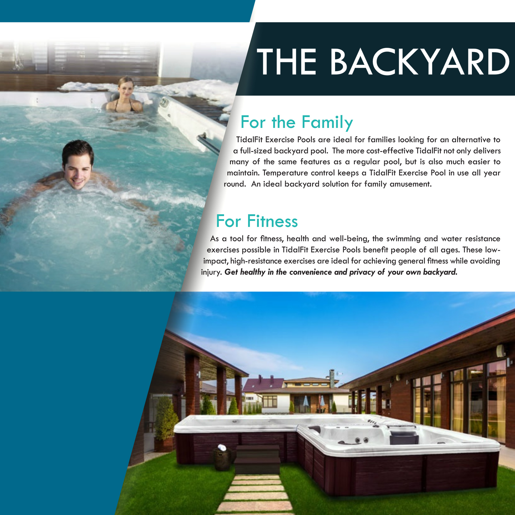 Backyard Pool Exercises 2018 tidalfit brochure pages 1 - 32 - text version | anyflip