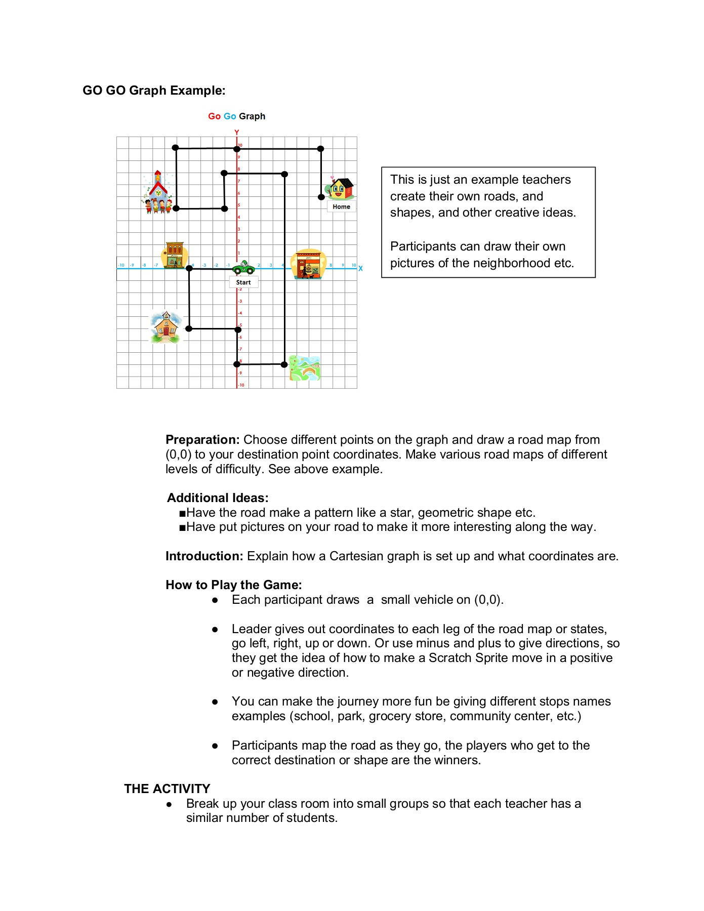 """Beginning Scratch Lesson Plan """"Bouncy Bounce"""" Pages 1 - 3"""