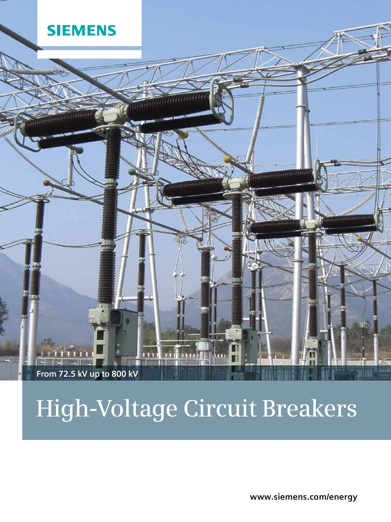 From 72 5 kV up to 800 kV High-Voltage Circuit Breakers Pages 1 - 28