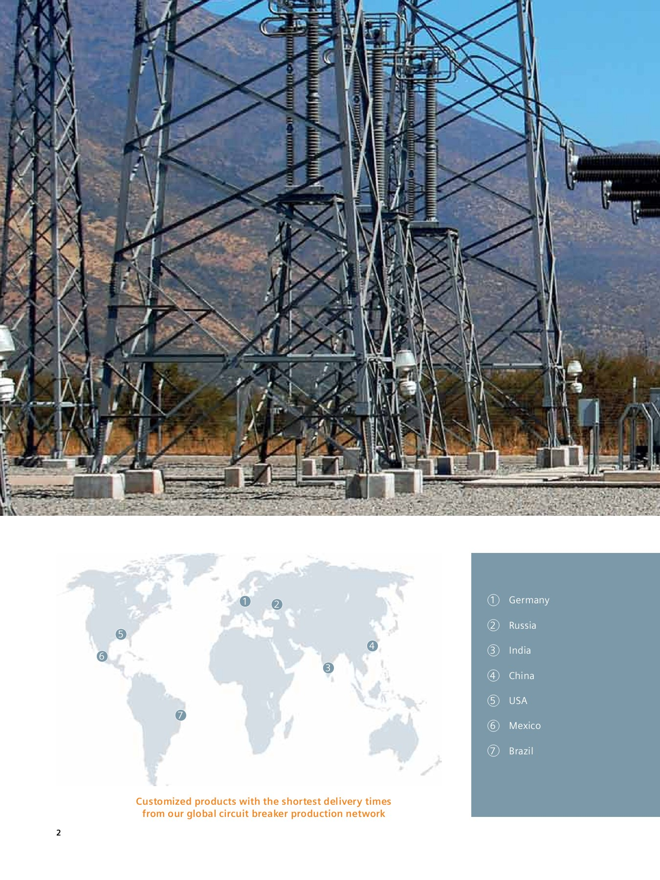 From 72 5 kV up to 800 kV High-Voltage Circuit Breakers