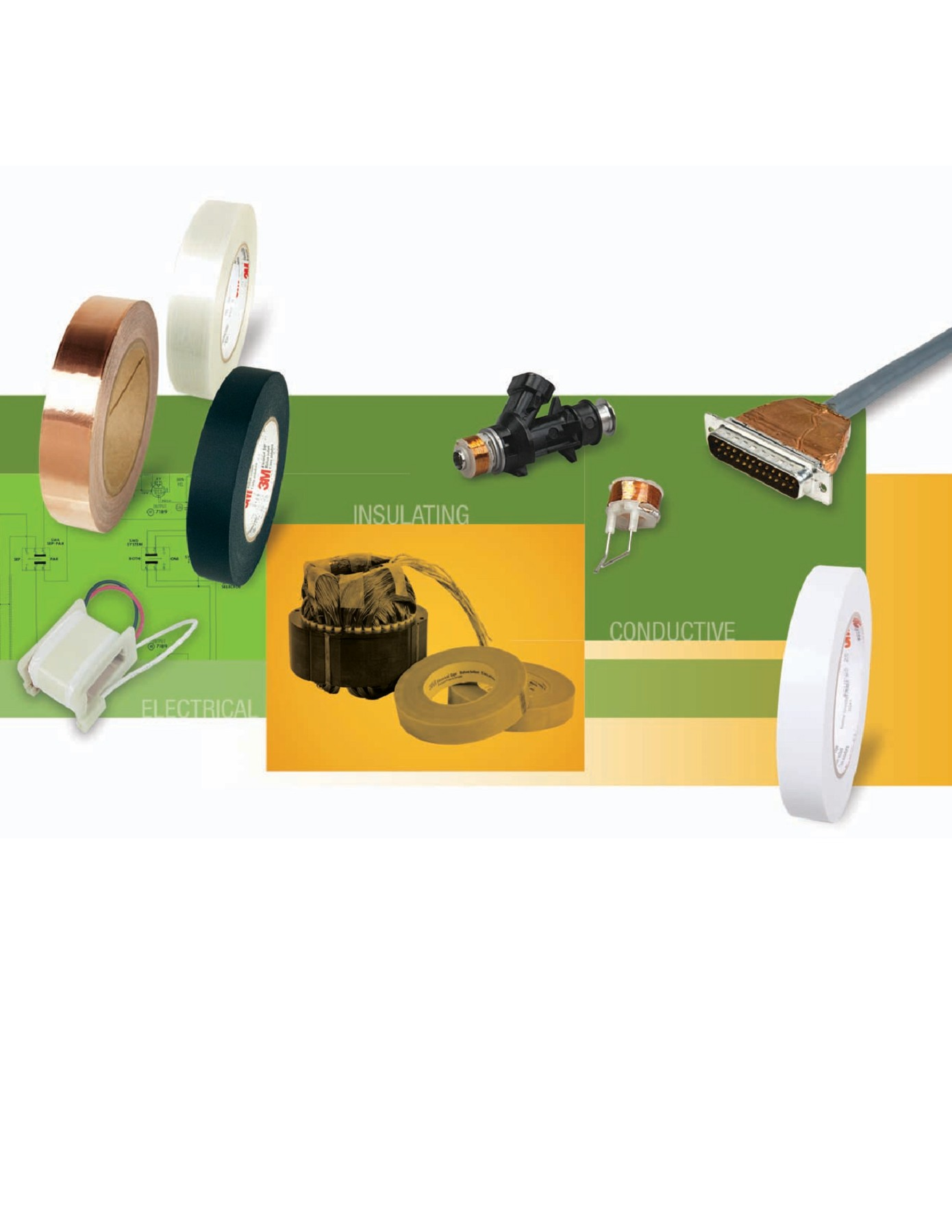 """3M™ Electrical Insulation Tape Flame Retardant 3//4/""""x108/' Cold /&Weather Resistant"""