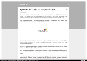 How to Find The Great Printing Companies In Dubai Pages 1