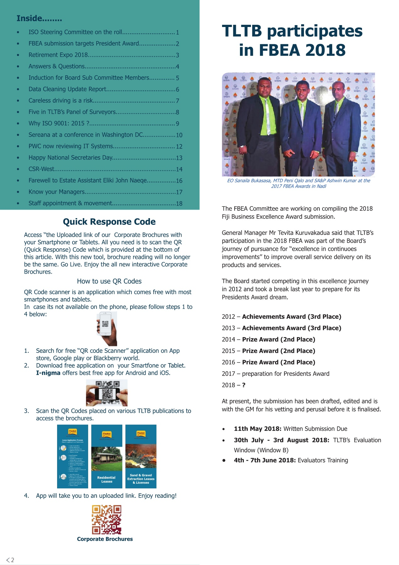 Staff Bulletin 4th edition Pages 1 - 20 - Text Version | AnyFlip