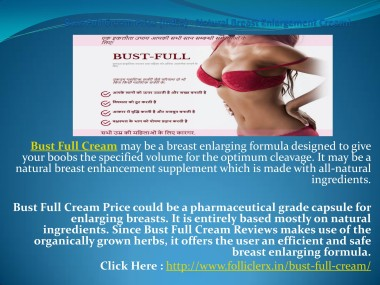 Bust Full Cream Price India Real Natural Breast Enhancement