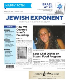 Jewish Exponent April 26, 2018 Pages 1 - 50 - Text Version | AnyFlip