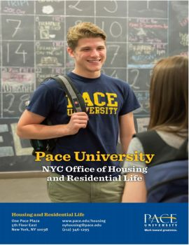 Welcome to Pace University, NYC Office of Housing and