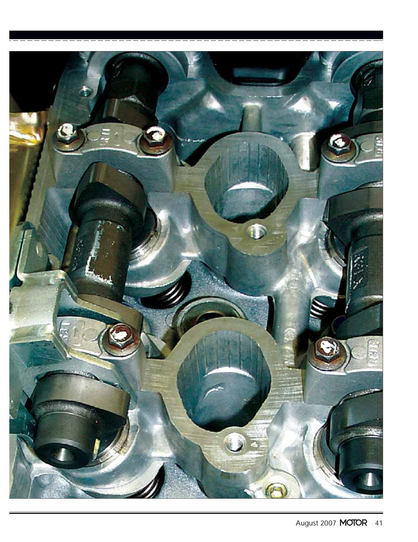 Tame Ticking Tappets: VALVE - MOTOR Pages 1 - 7 - Text