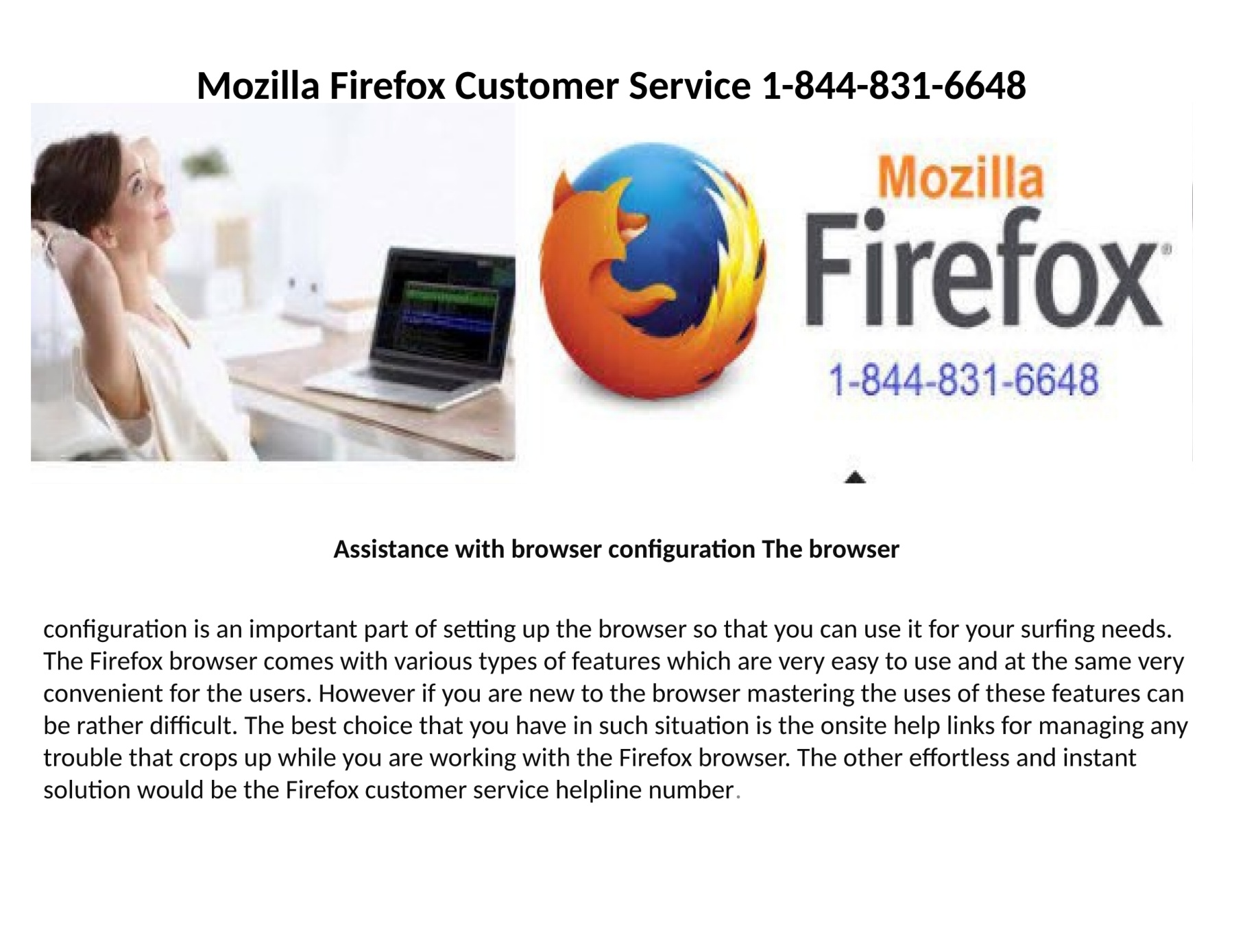 Mozilla Firefox tech support number 1-844-831-6648