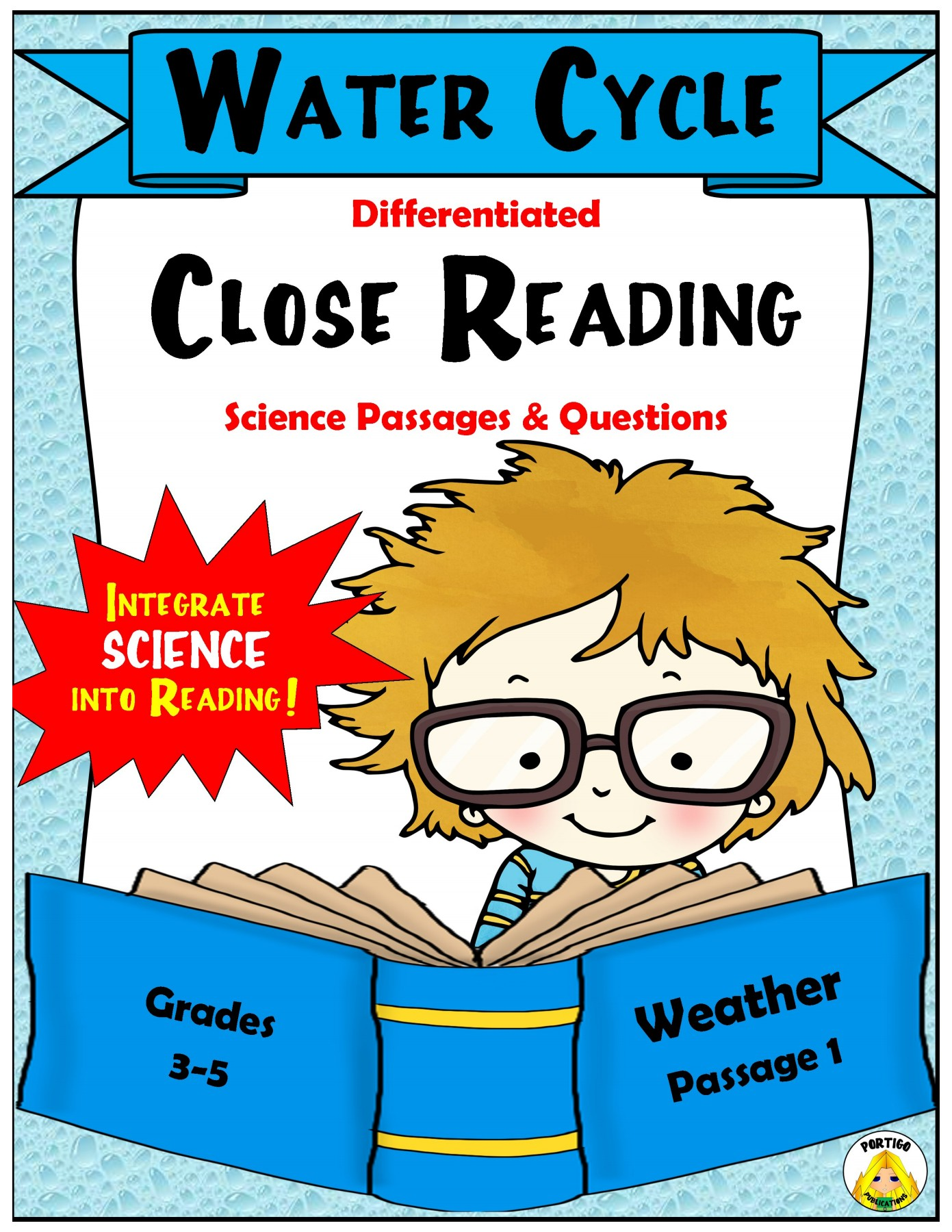 Close Reading Science Weather Water Cycle
