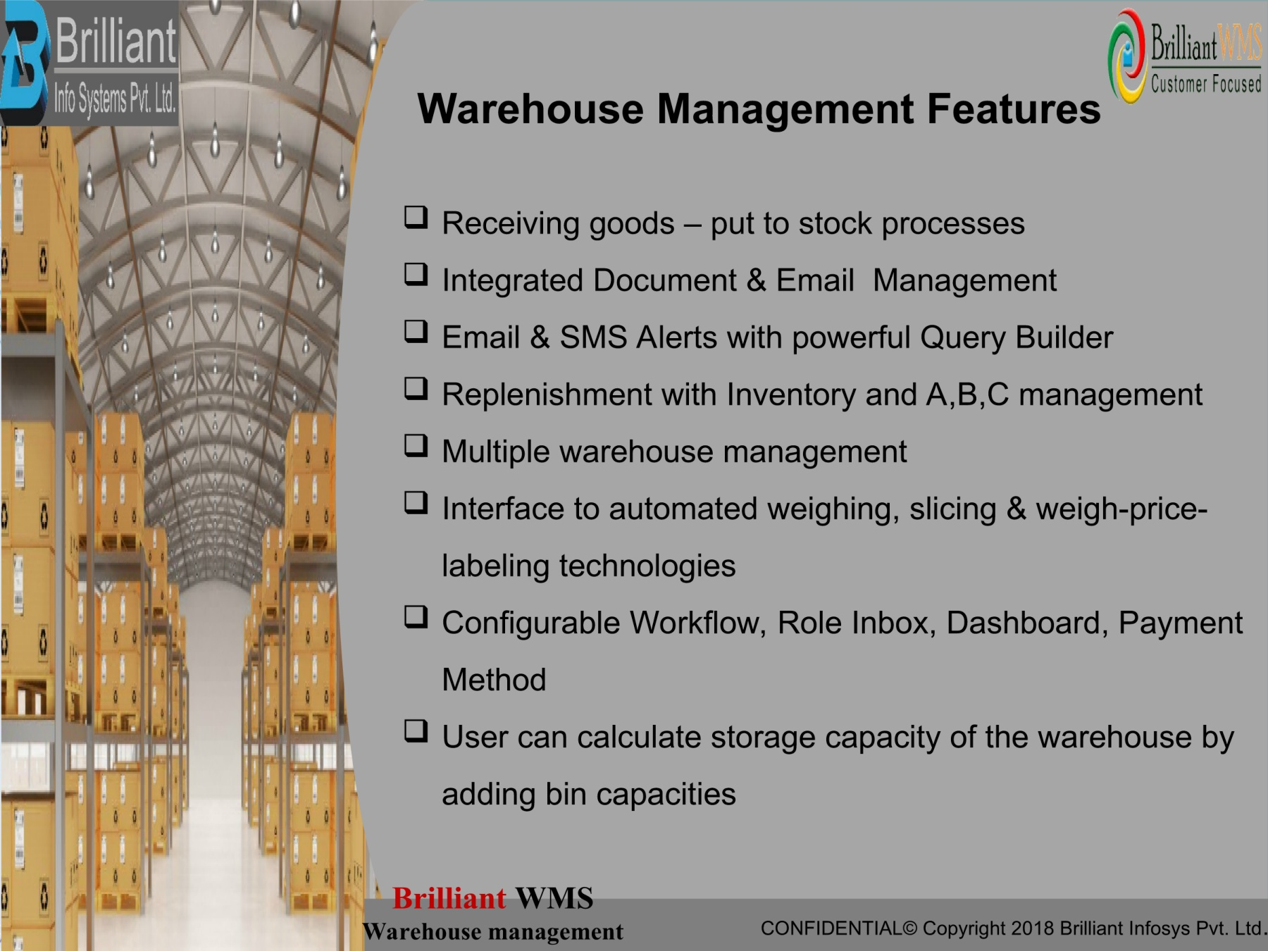 barcode scanning system for a warehouse Pages 1 - 8 - Text Version