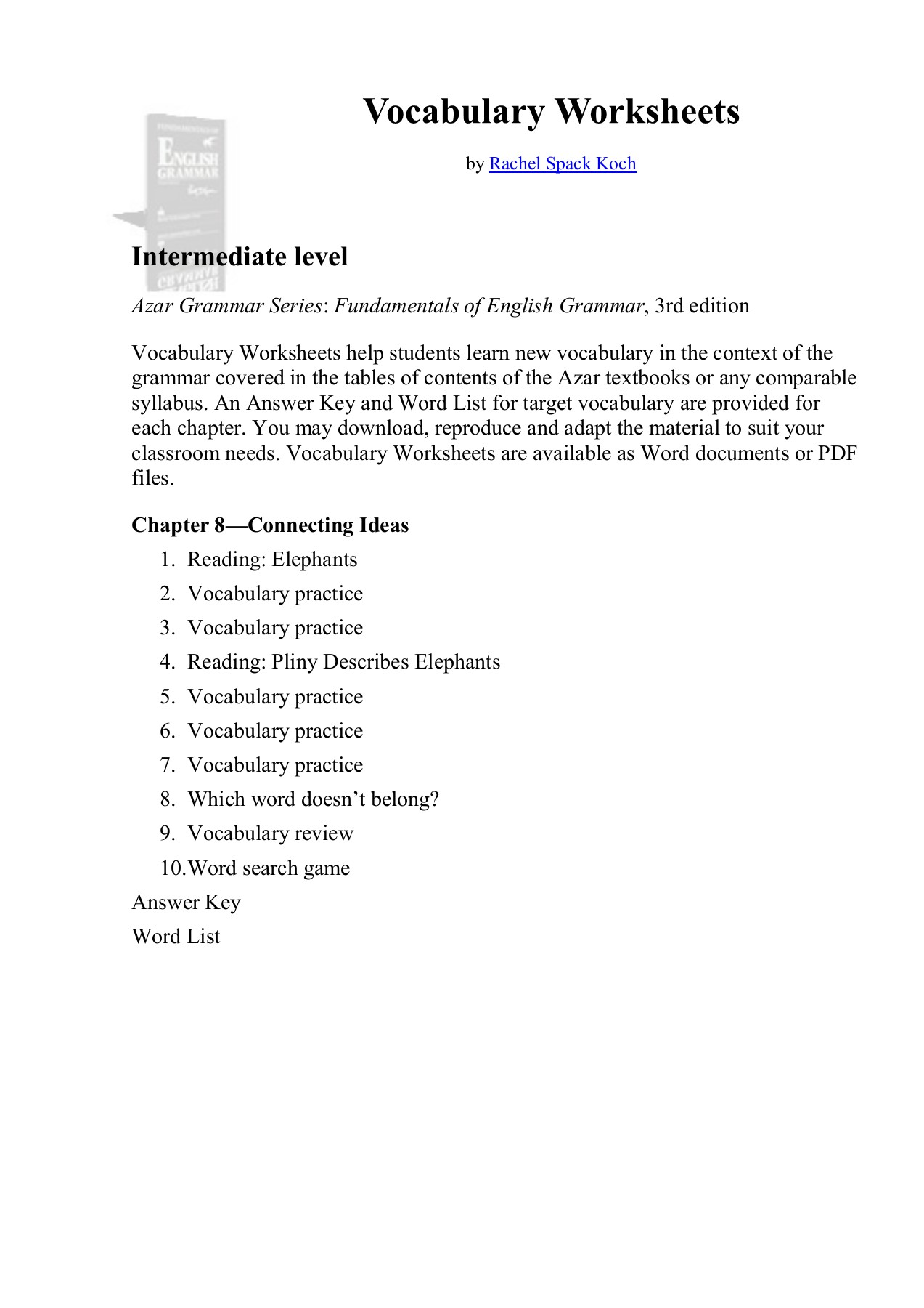 Vocabulary Worksheets - Ning Pages 1 - 17 - Text Version ... on database worksheet pdf, rhythm worksheet pdf, mean median mode worksheet pdf, spanish colors worksheet pdf, parts of speech worksheet pdf, math worksheet pdf, test taking strategies worksheet pdf, daily routine worksheet pdf, sight words worksheet pdf, contractions worksheet pdf, skills worksheet pdf, sequencing worksheet pdf, translation worksheet pdf, literary elements worksheet pdf, art worksheet pdf, anagrams worksheet pdf, geometry worksheet pdf, months of the year worksheet pdf, transitional words worksheet pdf, functions worksheet pdf,