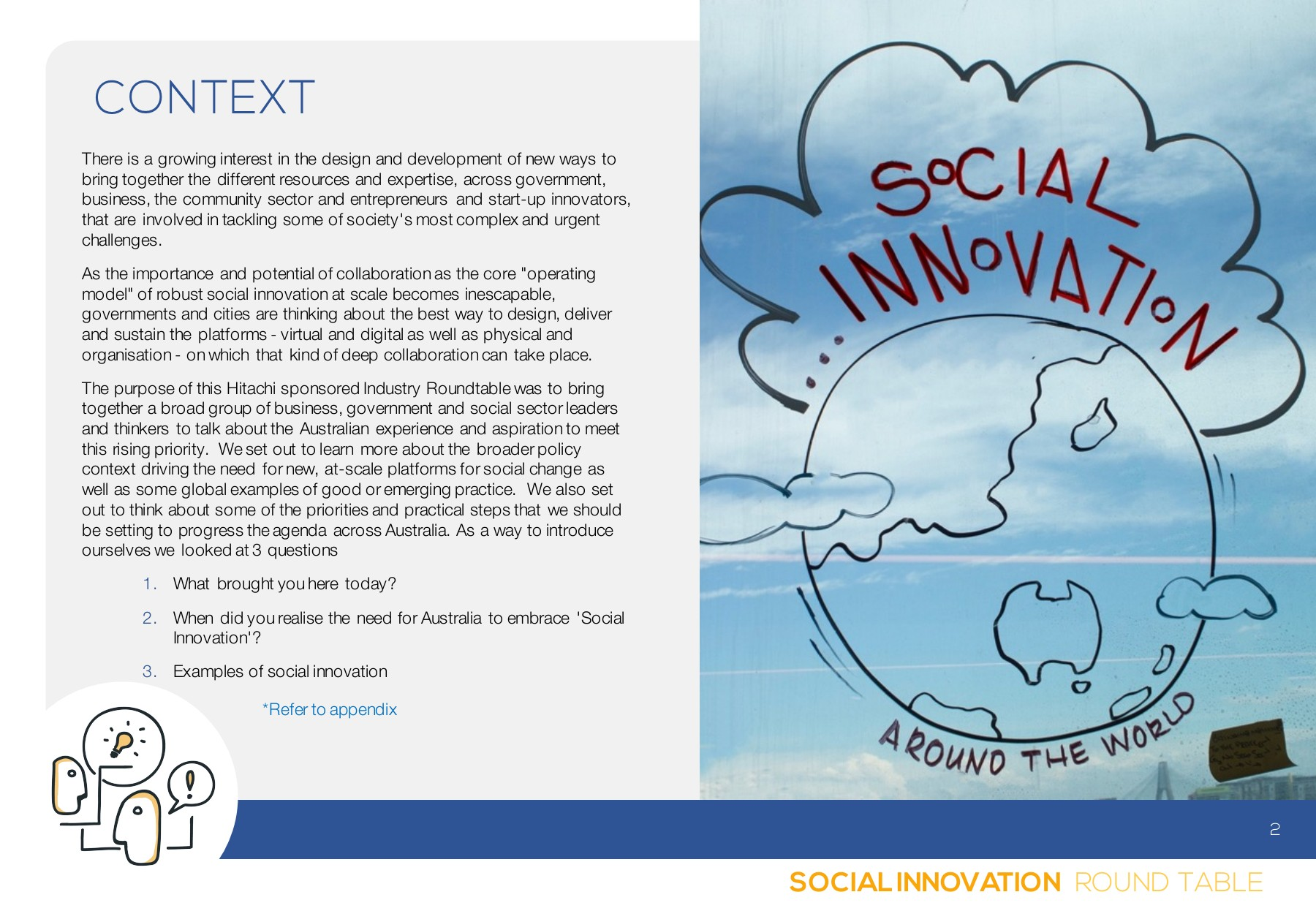 Social Innovation Roundtable Pages 1 18 Text Version Anyflip