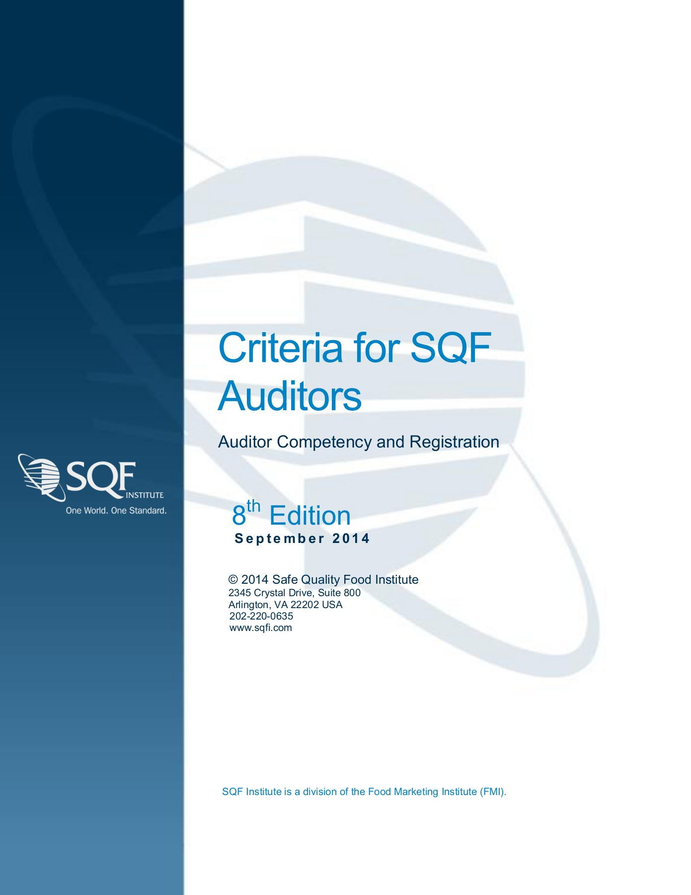 Criteria for SQF Auditors Pages 1 - 16 - Text Version | AnyFlip