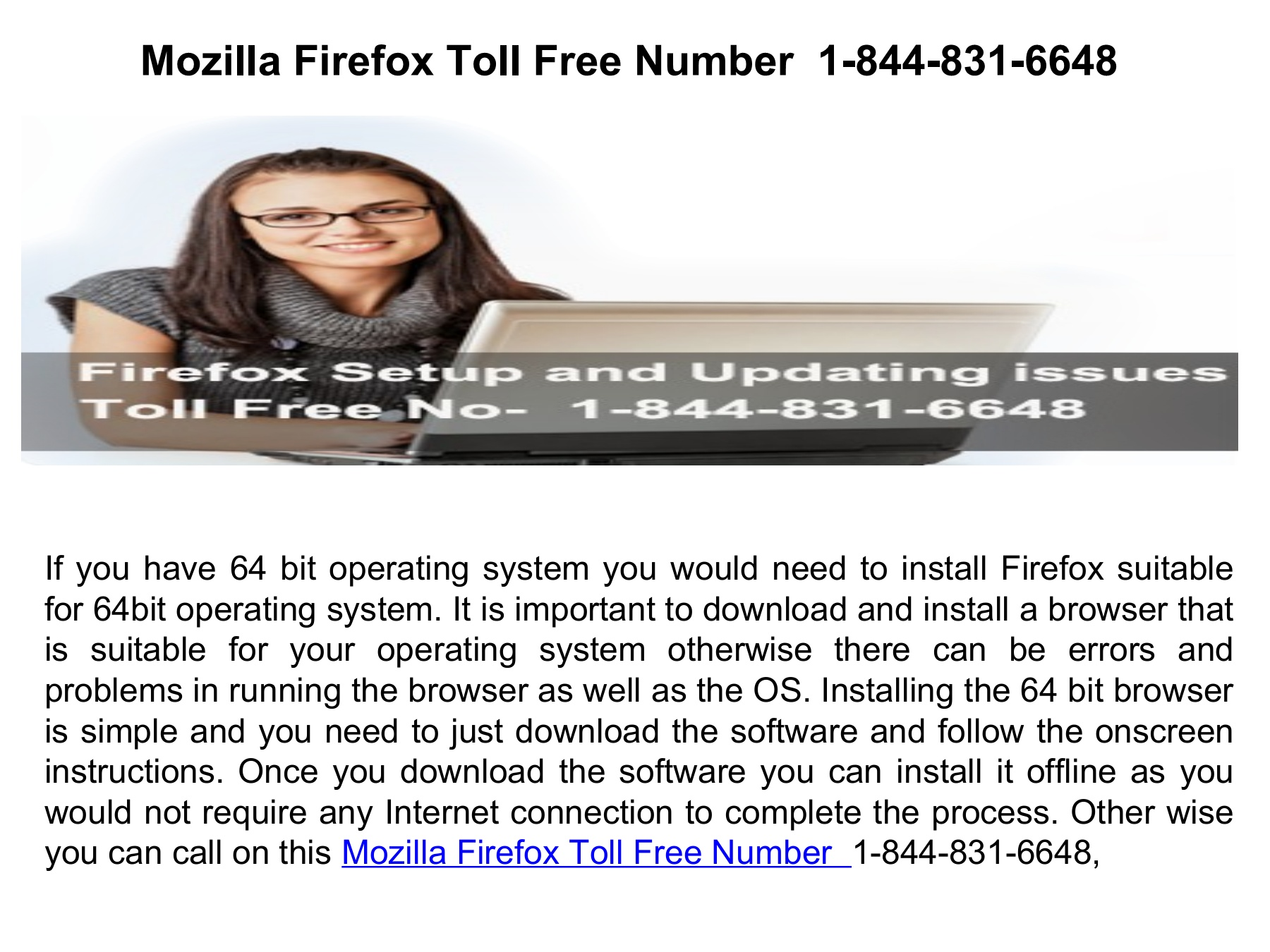 Mozilla Firefox Chat Support 1-844-831-6648