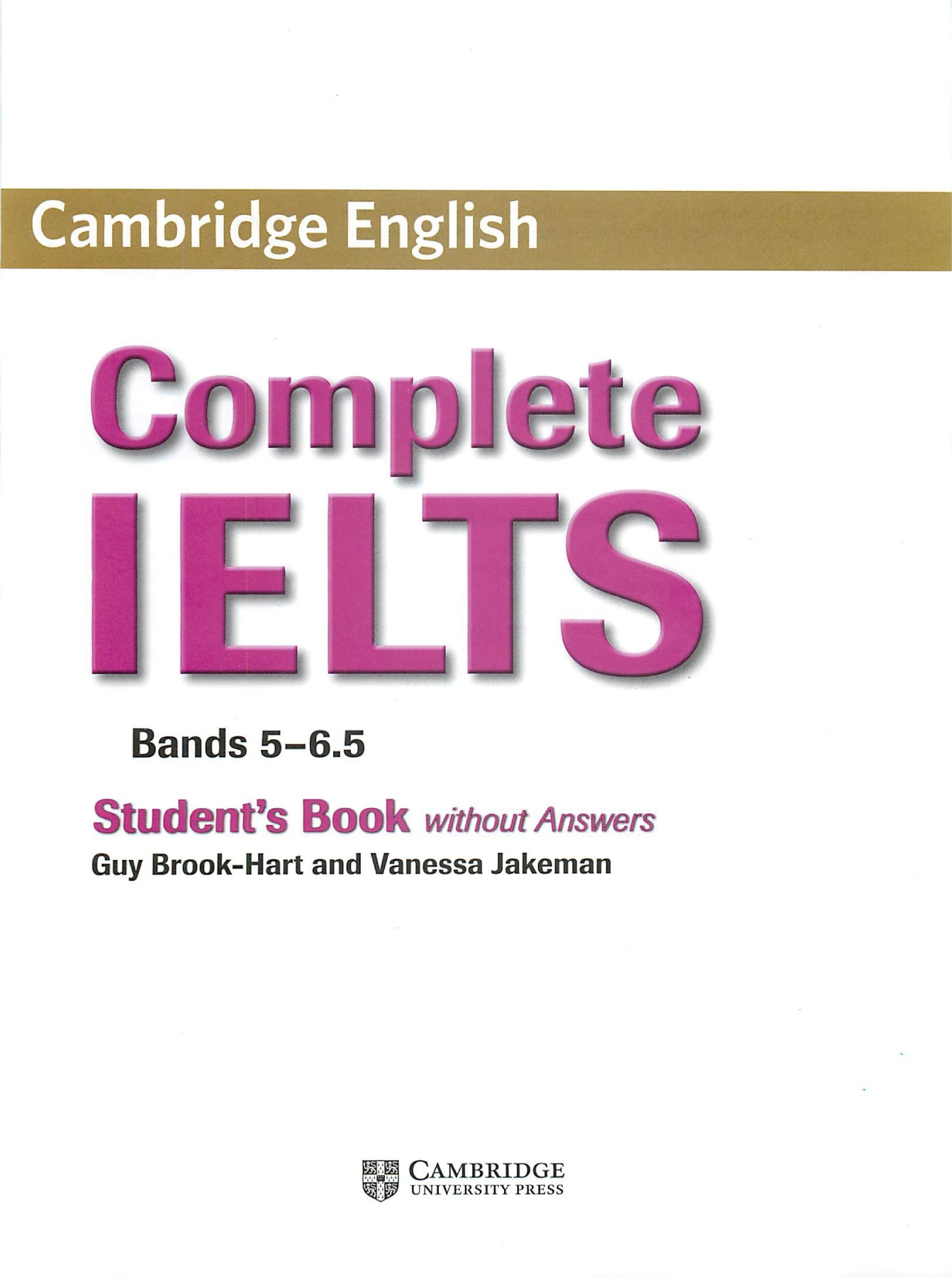 Complete Ielts Bands 5-6.5 Students Book With Answers