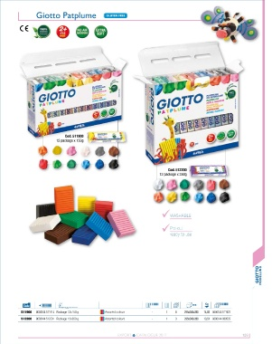 GIOTTO PATPLUME 350G GREY