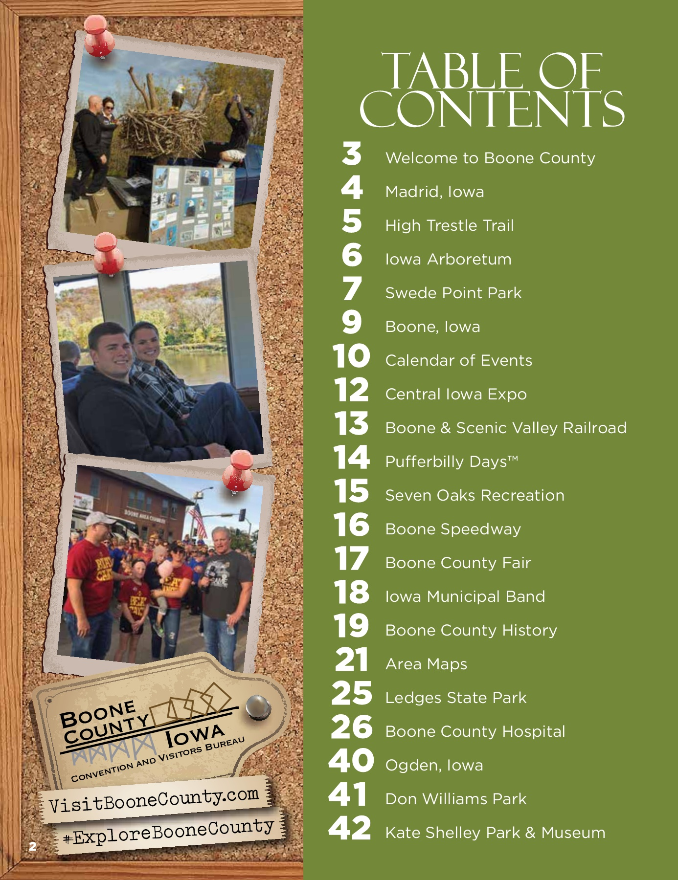 2018 Boone County Visitors Guide Pages 1 44 Text Version Anyflip