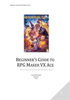 The RPG Maker VX Ace Help Guide Pages 1 - 50 - Text Version | AnyFlip