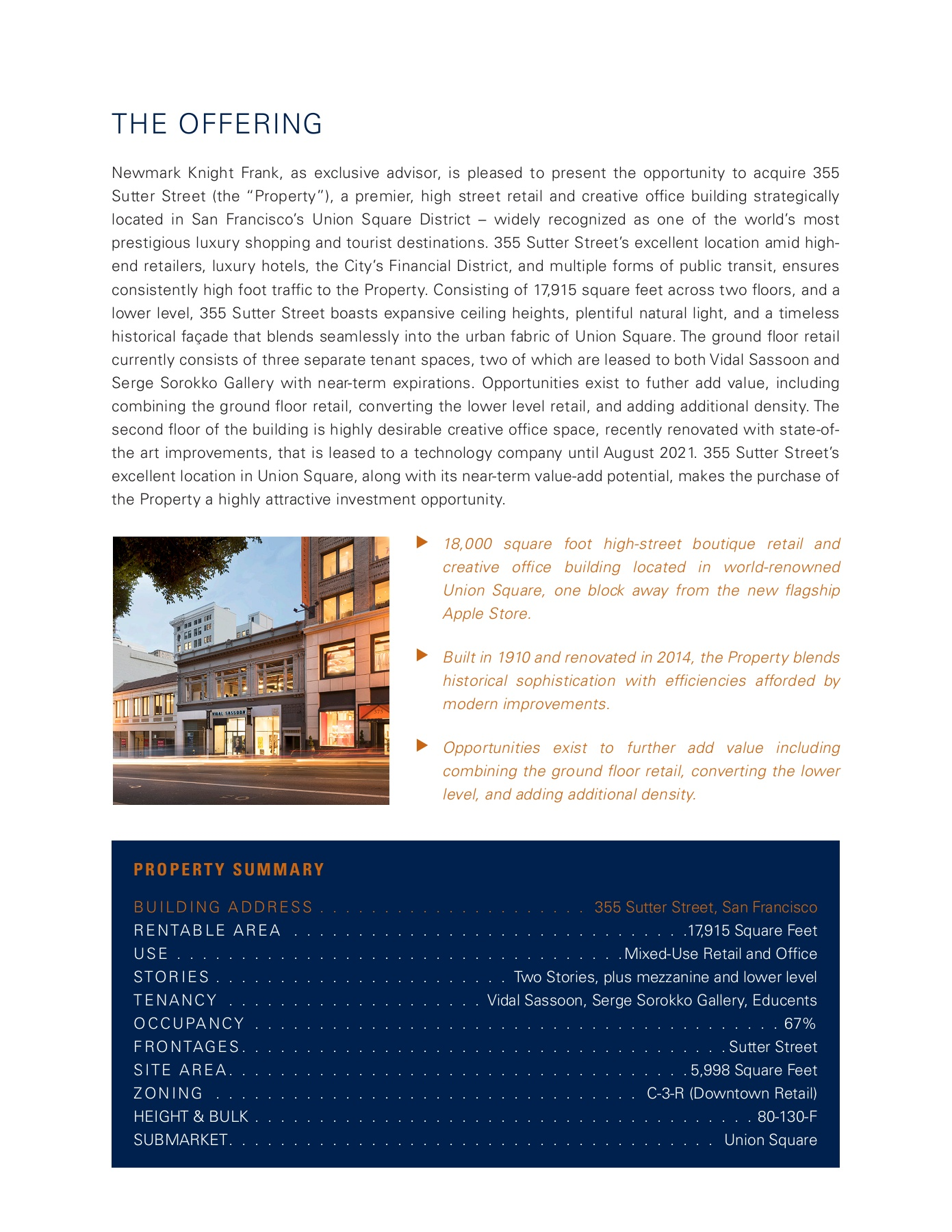 355 Sutter, San Francisco Pages 1 - 8 - Text Version | AnyFlip
