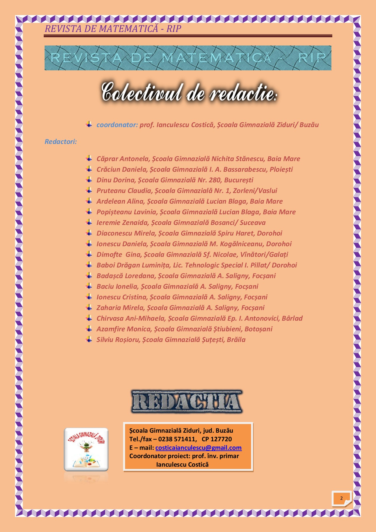 REVISTA MATEMATICA 4 Pages 1 - 27 - Text Version | AnyFlip