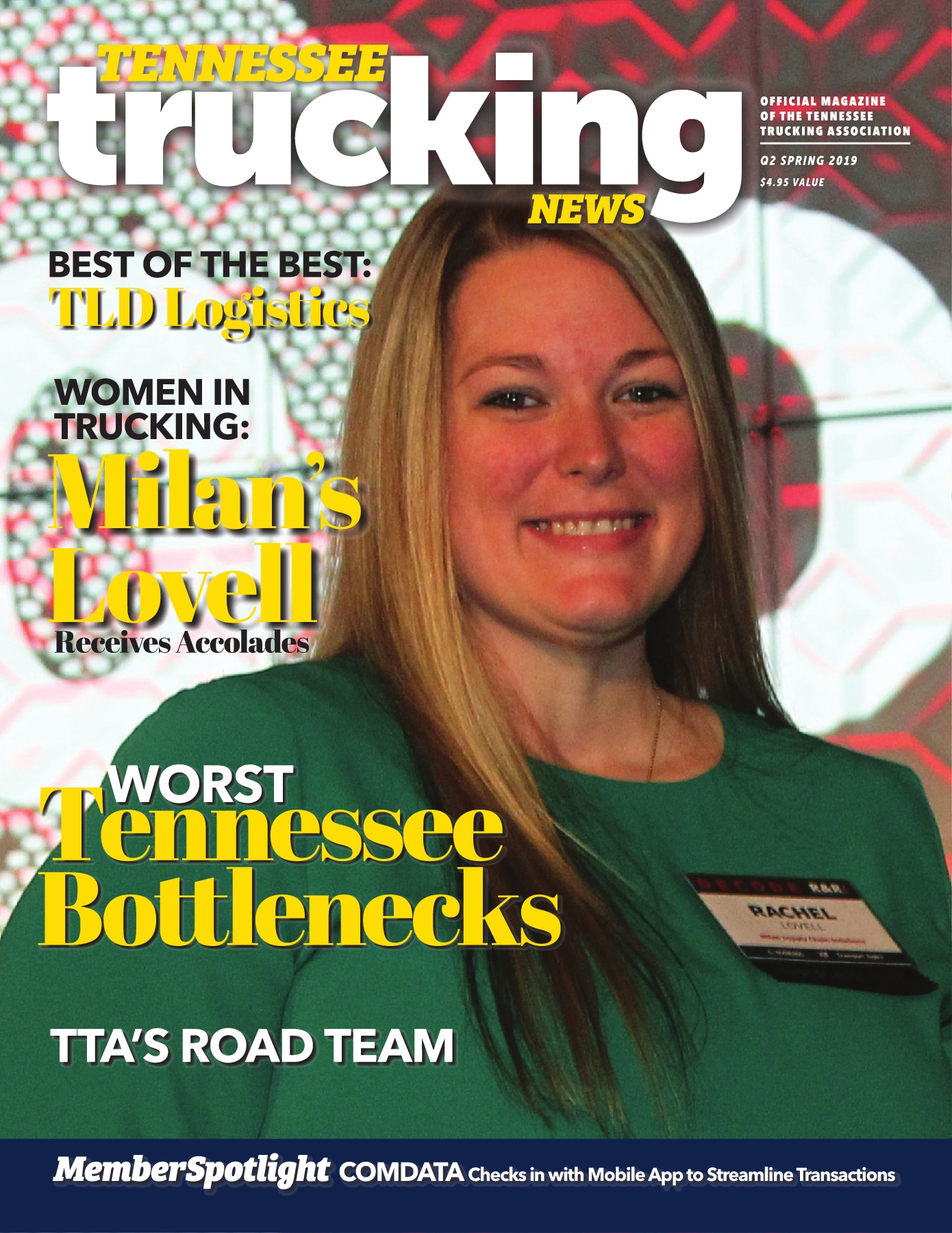 Tennessee Trucking News Q1 Spring 2019 Featuring Rochel Lovell Milan Supply Chain And Women In Trucking Pages 1 36 Text Version Anyflip