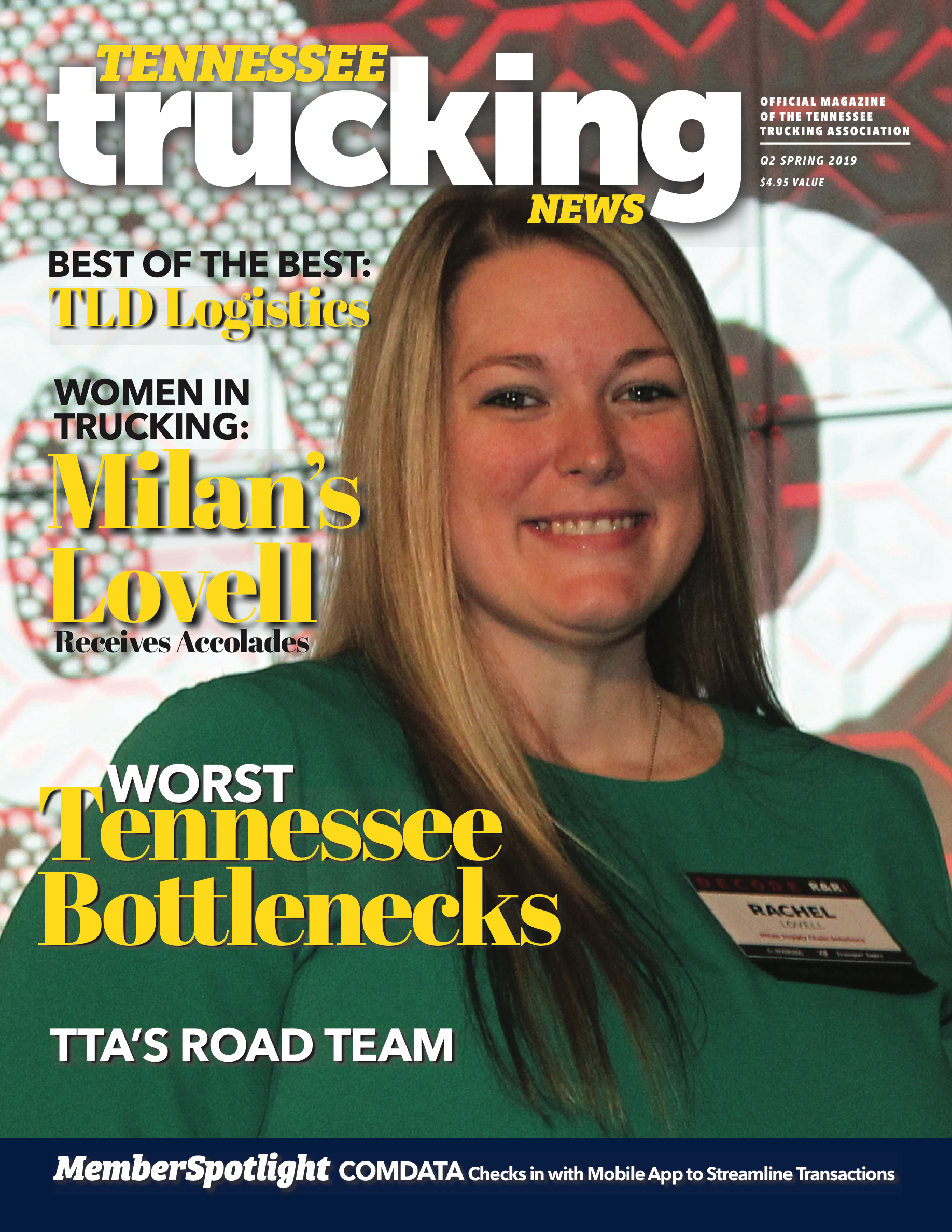 Tennessee Trucking News Q1 Spring 2019 Pages 1 - 36 - Text