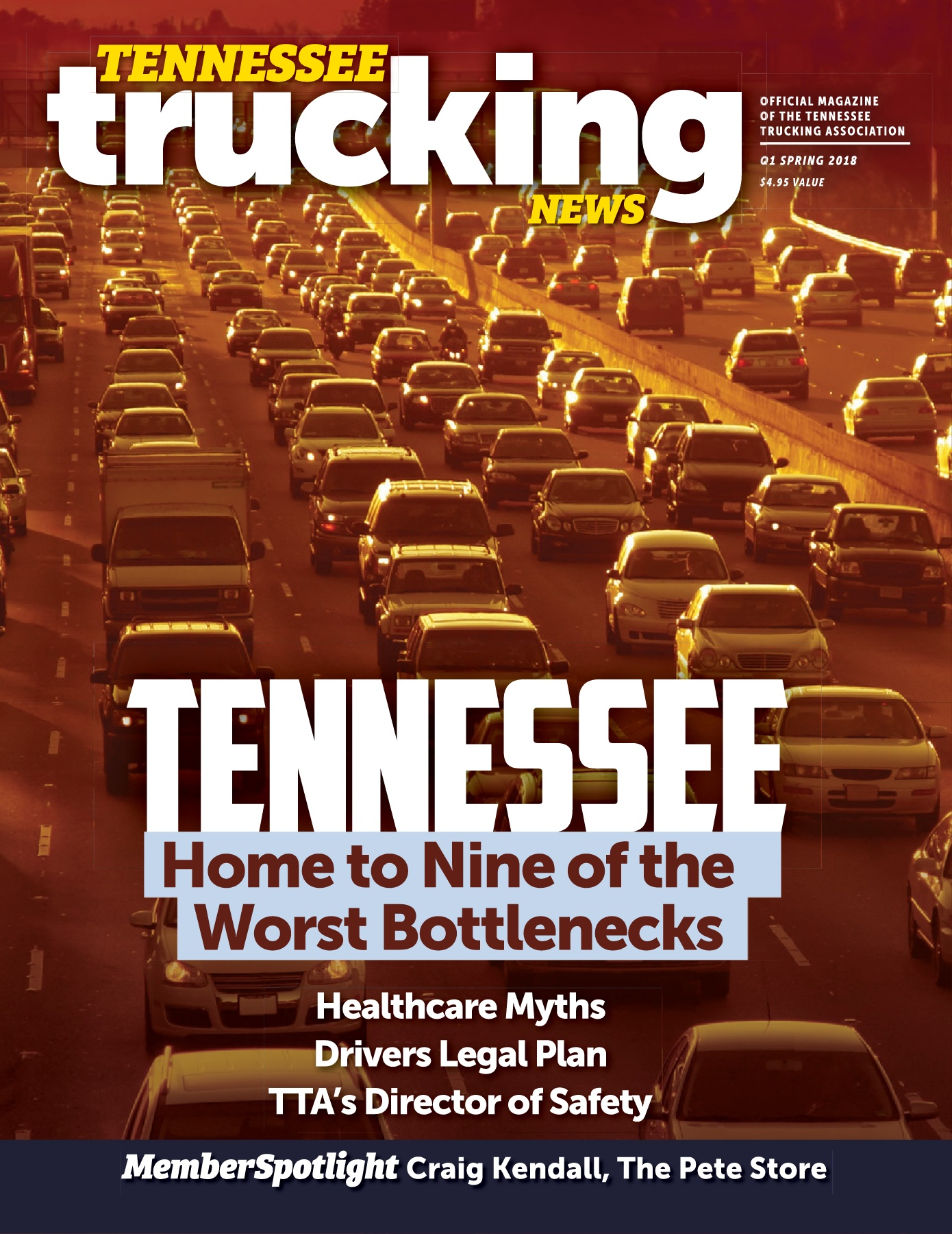 Tennessee Trucking News Q1 Spring 2018 -- Bottlenecks Pages