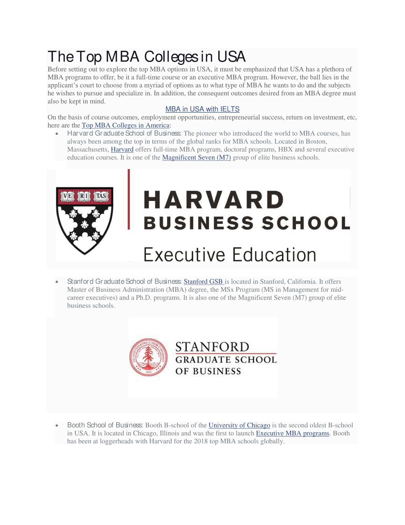 A Harvard University Guide To Executive >> Study Mba In Usa The Ultimate Guide To Top Mba Colleges Updated