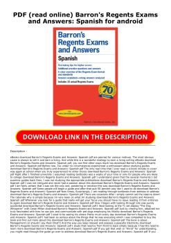 spanish test for beginners pdf with answers