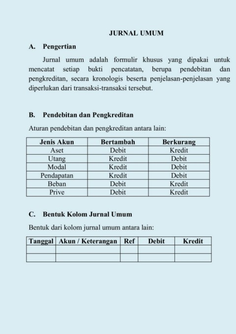 Junal Umum Xi Pages 1 7 Text Version Anyflip