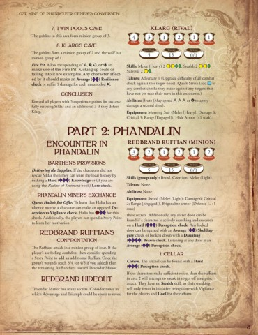 Lost Mines of Phandelver stats Pages 1 - 13 - Text Version