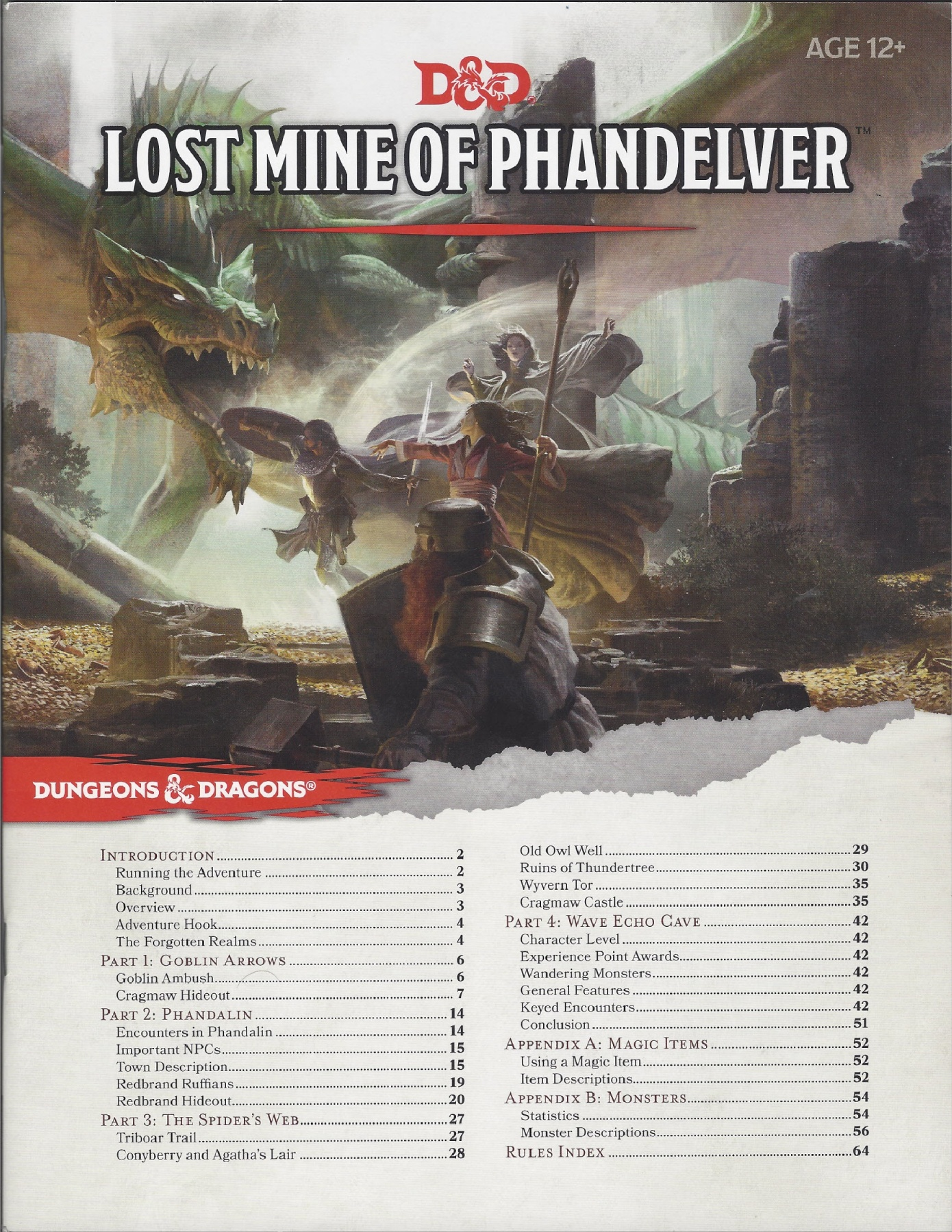 Lost Mine of Phandelver DM Guide Pages 1 - 50 - Text Version