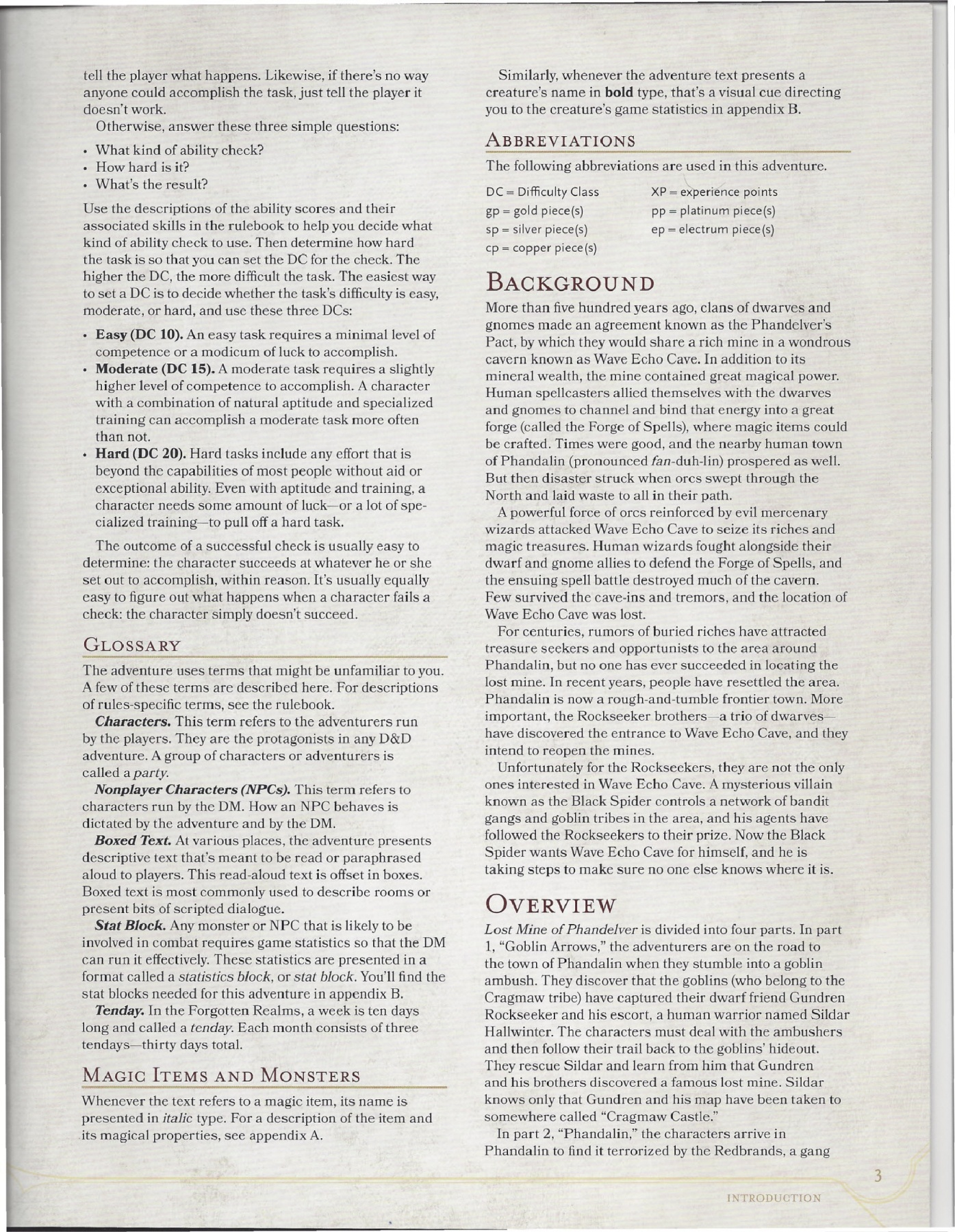 Lost Mine of Phandelver DM Guide Pages 1 - 50 - Text Version | AnyFlip