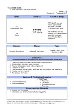 English Form 5 Scheme of Work Pages 1 - 10 - Text Version | AnyFlip