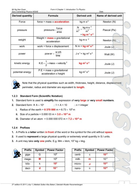 Physics Module Pages 1 50 Text Version Anyflip