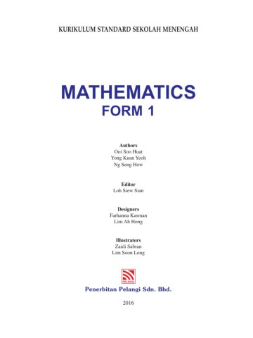 Matematics Form 1 Pages 1 50 Text Version Anyflip
