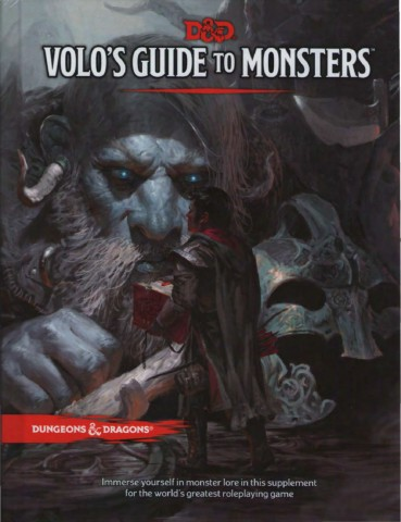 DnD 5e Volo´s Guide to Monsters Pages 51 - 100 - Text