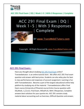 acc 300 final exam solutions