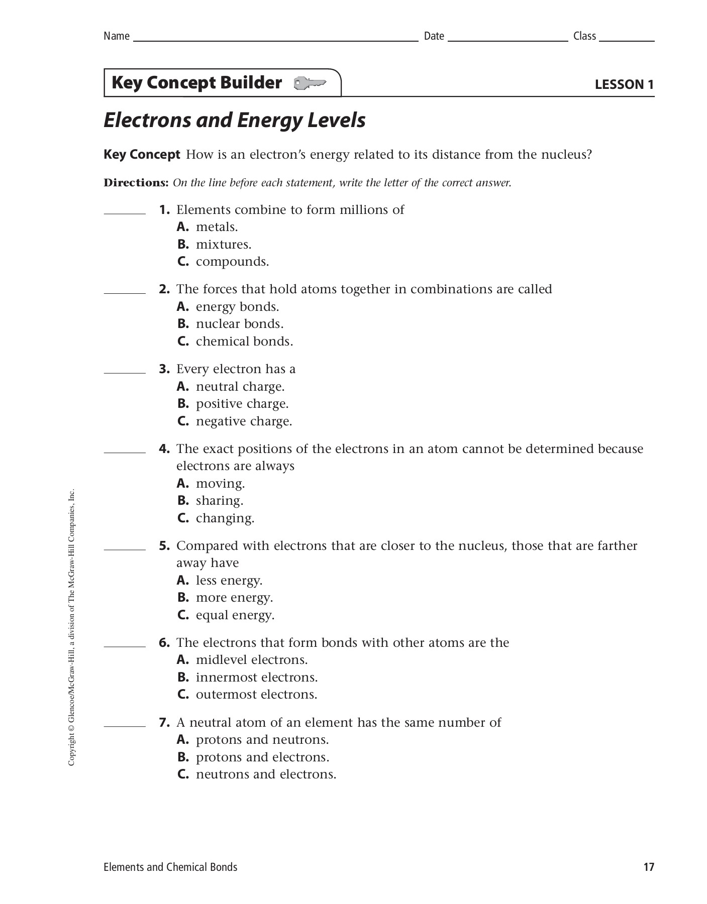 Electrons and Energy Levels - Wikispaces Pages 1 - 4 - Text ...