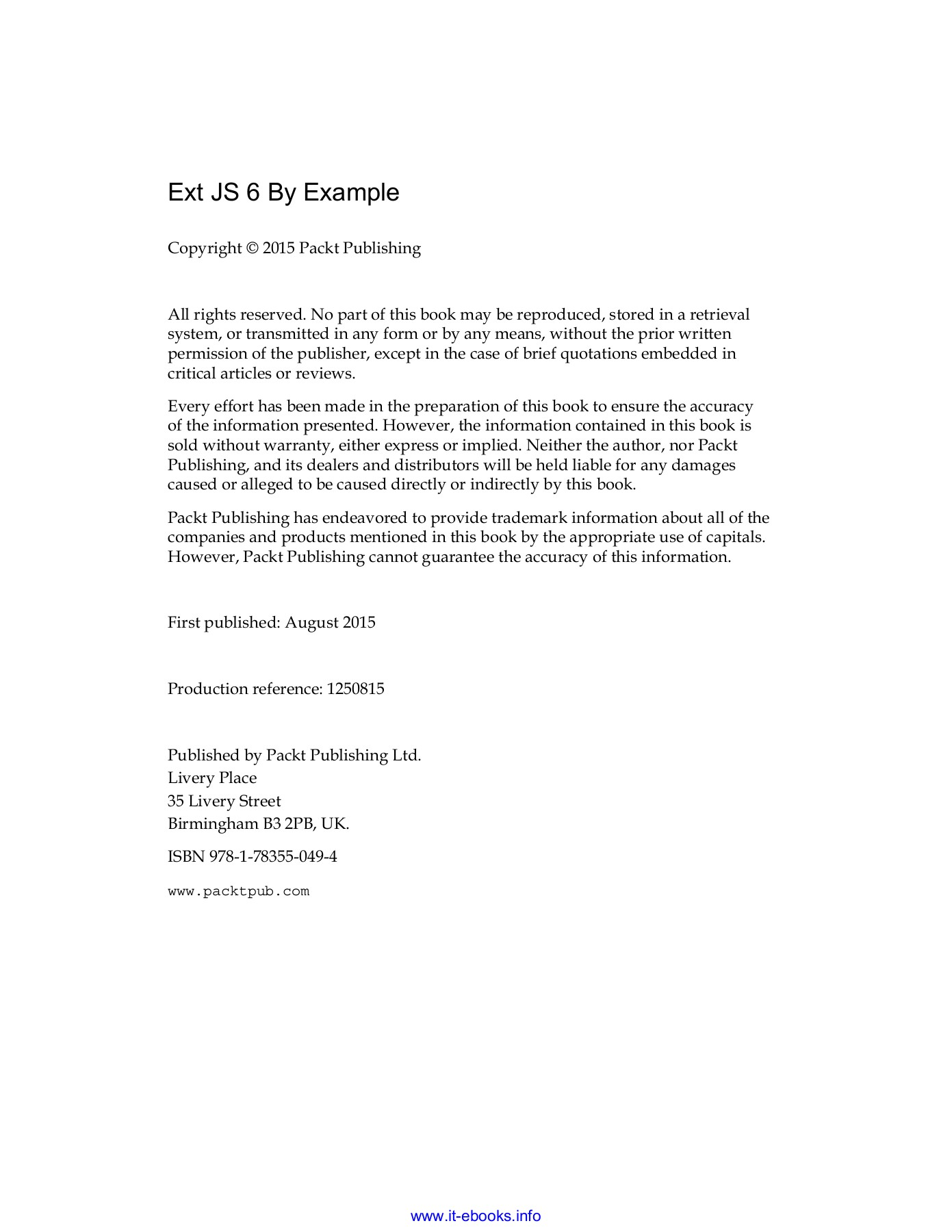 Ext JS 6 By Example Pages 51 - 100 - Text Version | AnyFlip