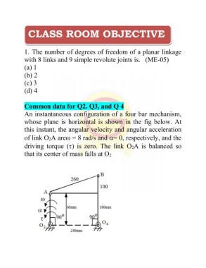 Theory of machines objective sample pages 1 42 text version 142 ccuart Image collections