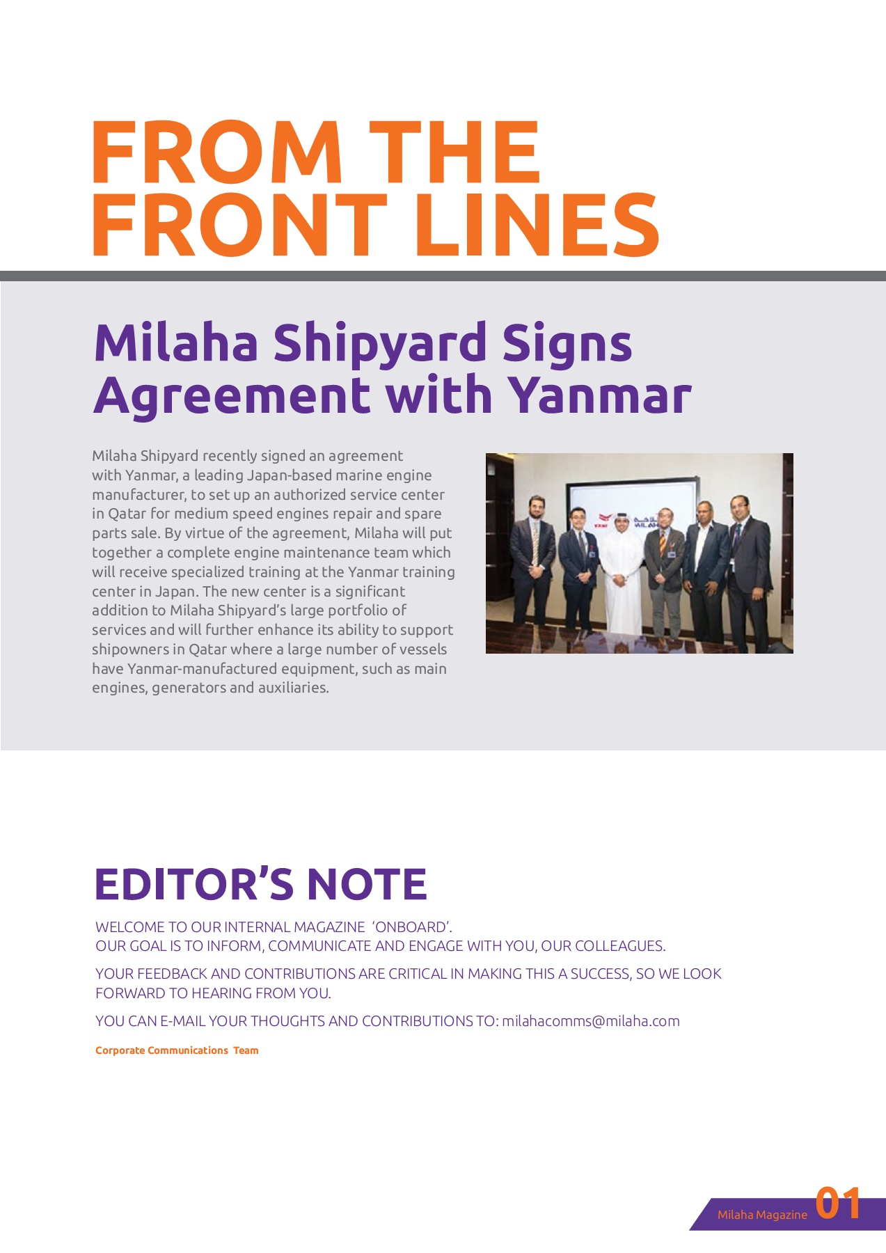 MILAHA Onboard 2018 EN WEB Pages 1 - 44 - Text Version | AnyFlip